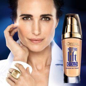 To Nutri Lift Gold της L' Oréal Paris είναι το πρώτο serum fond de teint