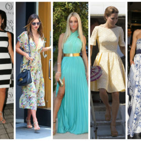 A-List εμφανίσεις με φορέματα