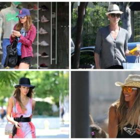 Hat Time: Τα καπέλα που φορούν οι celebrities