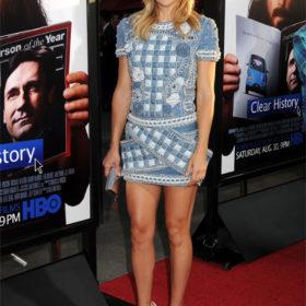 H Kate Hudson με Balmain φόρεμα