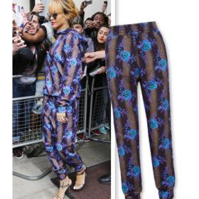 Επιλέξτε printed φόρμες όπως η Rihanna