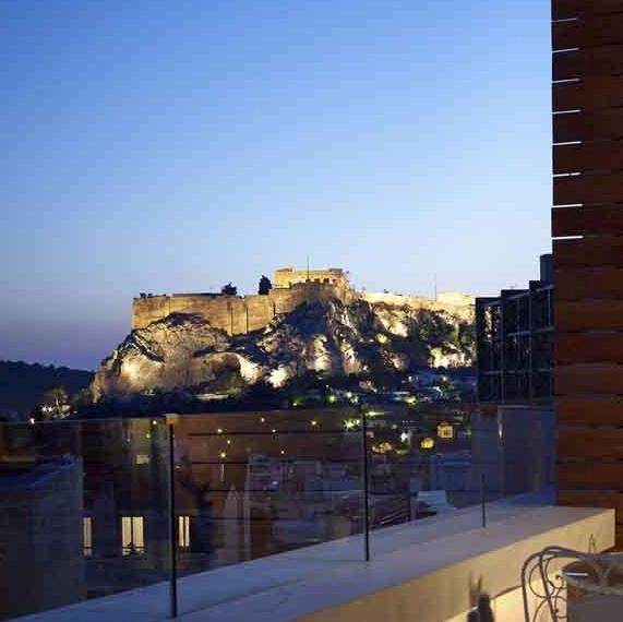 new hotel art lounge acropolis