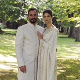 Supermodel παντρεύεται τον Πρίγκιπα Rahim και γίνεται Πριγκίπισσα