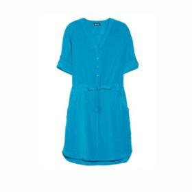 Κοντομάνικα φορέματα με χρώμα