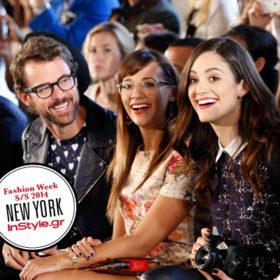NYFW: Διάσημες παρουσίες στα shows της έκτης ημέρας