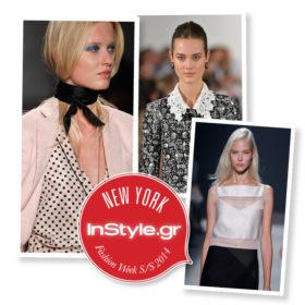NYFW Beauty Report Άνοιξη/Καλοκαίρι 2014: Ημέρα 5η