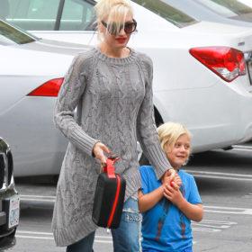 Gwen Stefani: στο σχολείο με τον γιο της