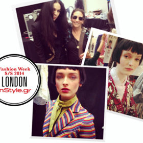 LFW Άνοιξη 2014: Οι μοντέρνες Geishas της Bobbi Brown για τη L' Wren Scott