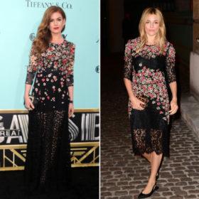 Ποιες celebrities φόρεσαν τις φλοράλ δημιουργίες των Dolce&Gabbana