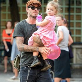 David Beckham: Ένα έργο τέχνης για την Harper