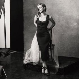 Η Emma Watson φωτογραφίζεται για καλό σκοπό