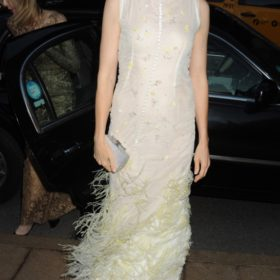 H Kelly Rutherford με Celia Kritharioti Haute Couture