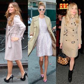 Trench coat: Ποιες celebrities έχουν ενσωματώσει την καπαρντίνα  στο στυλ τους