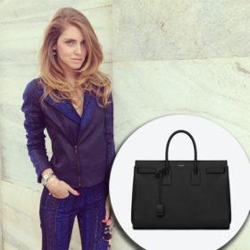 H Saint Laurent τσάντα της Chiara Ferragni