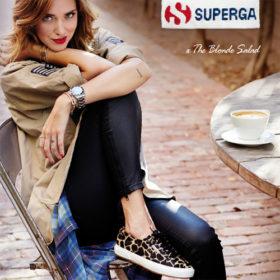 Η νέα συνεργασία της Chiara Ferragni με τη Superga