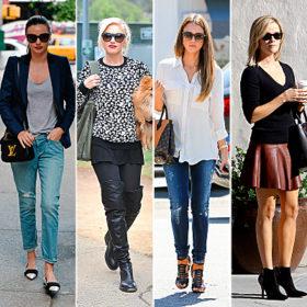 Οι celebrities μας προτείνουν τις casual chic εμφανίσεις του Σαββατοκύριακου
