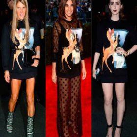 Bambi mania: το φούτερ της Givenchy που φορούν οι σταρ