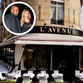 Η Kim Kardashian γευματίζει στο πιο εμβληματικό εστιατόριο του Παρισιού