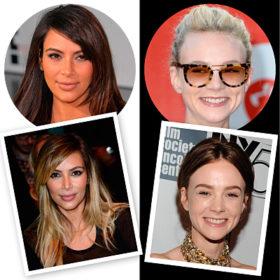 Οι πιο πρόσφατες αλλαγές στα μαλλιά των σταρ: Από την Kim Kardashian ως την Carey Mulligan