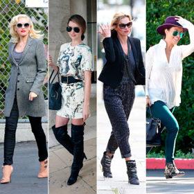 Τα πιο InStyle φθινοπωρινά παπούτσια όπως τα είδαμε στις celebrities