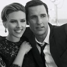 Scarlett Johansson & Matthew McConaughey: Ποζάρουν μαζί για το άρωμα «The One»