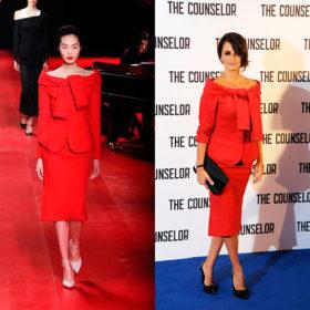 Penelope Cruz: Με εμφάνιση κατευθείαν από την πασαρέλα