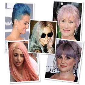 Παστέλ: Μαλλιά στα χρώματα της ίριδας