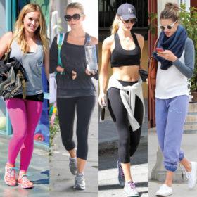 Sporty style: Oι celebrities φοράνε τα αθλητικά τους και βγαίνουν στους δρόμους