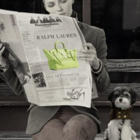 Ralph Lauren: Bόλτα στη Νέα Υόρκη παρέα με τους τετράποδους φίλους μας