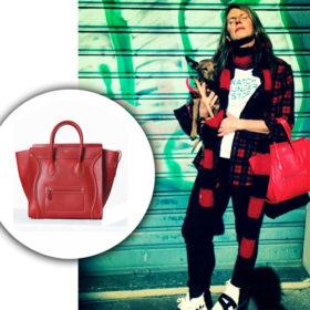Βρήκαμε τη Céline τσάντα της Anna Dello Russo