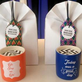 Souzie Bougie: Kεριά σχεδιάσμενα από Ελληνίδα Interior Designer