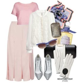 To outfit της ημέρας: '50s chic