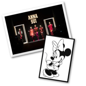 Anna Sui + Minnie Mouse = L. F. E
