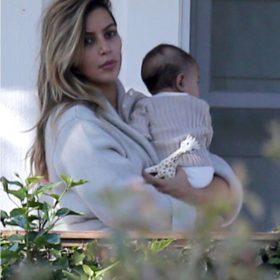 Spotted: Η Kim Kardashian με τη μικρή North West