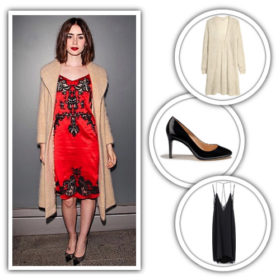 Lily Collins: Get the look