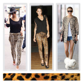 Leopard Print: Φορέστε το όπως οι αγαπημένες σας stars