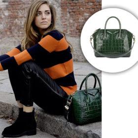 Βρήκαμε την κροκό τσάντα της Chiara Ferragni