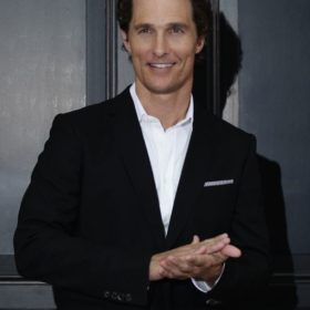 Matthew McConaughey: «Η υποκριτική και η οικογένειά μου είναι τα πιο σημαντικά πράγματα στη ζωή μου»