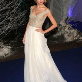 Η Taylor Swift με Reem Acra