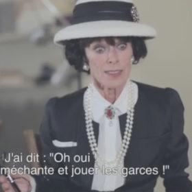 Η Geraldine Chaplin μιλά για τη συνεργασία της με τον Karl Lagerfeld στο νέο φιλμ The Return