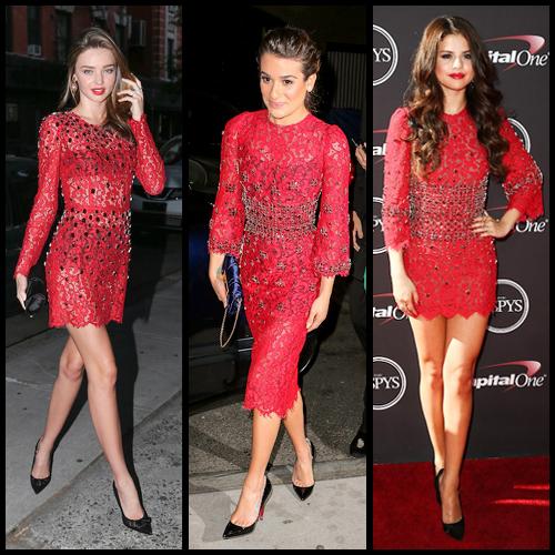a58da71664f0 Ένα φόρεμα- Τρεις σταρ- Μία απόφαση - Celebrity