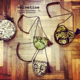 Velvetine: Η capsule συλλογή ippolito με τσάντες για τα Χριστούγεννα