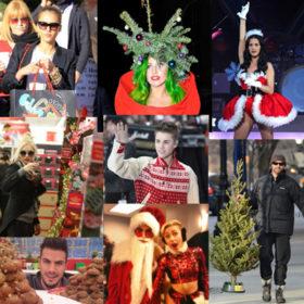 Στο πνεύμα των Χριστουγέννων: Oι celebrities έχουν μπει, εσείς;