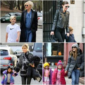 Stylish Moms: Πώς ντύνονται οι πιο κομψές μαμάδες της showbiz