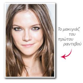 Πρώτο ραντεβού: Τι μακιγιάζ θα επιλέξετε;