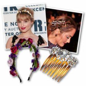 Hair Accessories: Οι σταρ μας εμπνέουν για το χτένισμα του ρεβεγιόν
