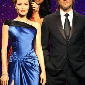Brad Pitt – Angelina Jolie: Νέα κέρινα ομοιώματα προς τιμήν των πεντηκοστών γενεθλίων του ηθοποιού
