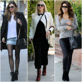 Booties: Πώς φοράνε οι celebrities τη Νο1 τάση στα παπούτσια
