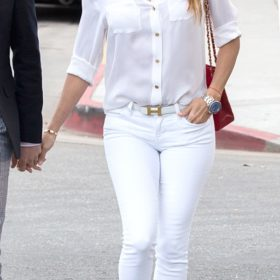 H Eva Longoria με Hermès