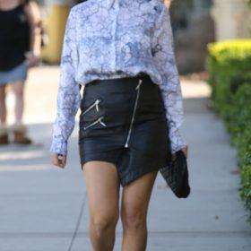 Kourtney Kardashian: Τι φόρεσε σε μια στυλάτη μεσημεριανή έξοδο